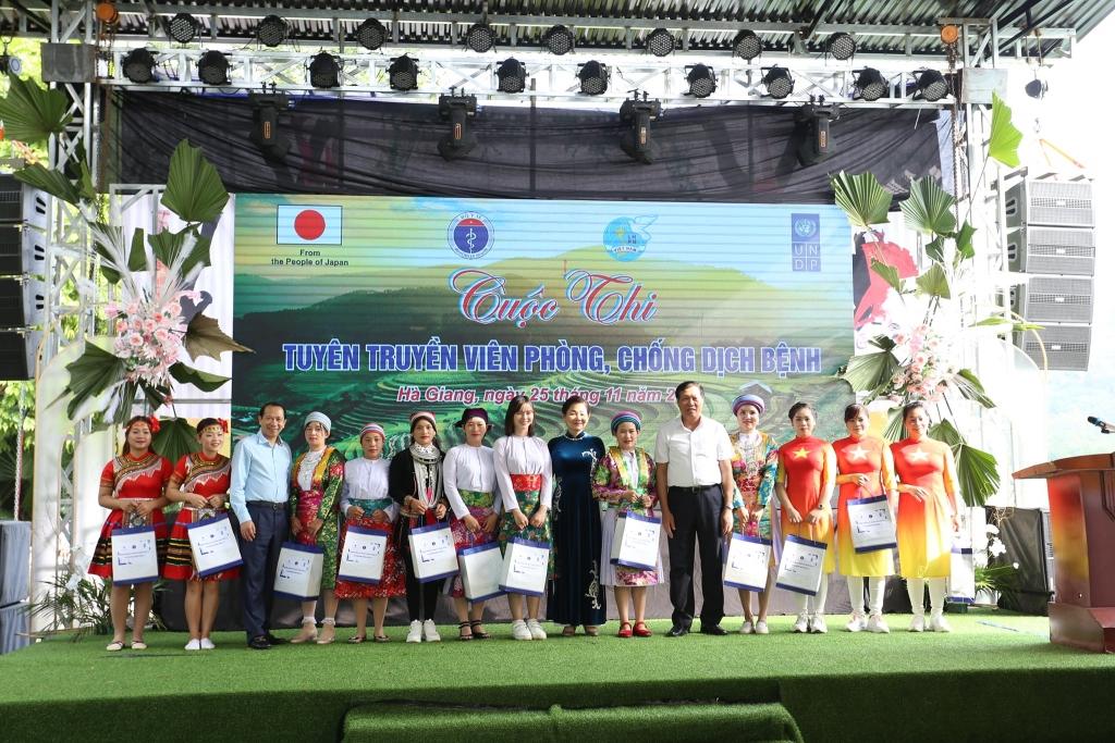 Tăng cường truyền thông phòng, chống dịch Covid-19 cho các tiểu thương dân tộc thiểu số tại Hà Giang