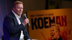 HLV Ronald Koeman chính thức ra mắt tại Barcelona